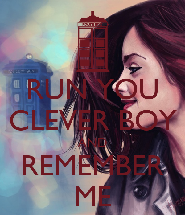 Run You Clever Boy And Remember Me Poster Stephen Price Keep