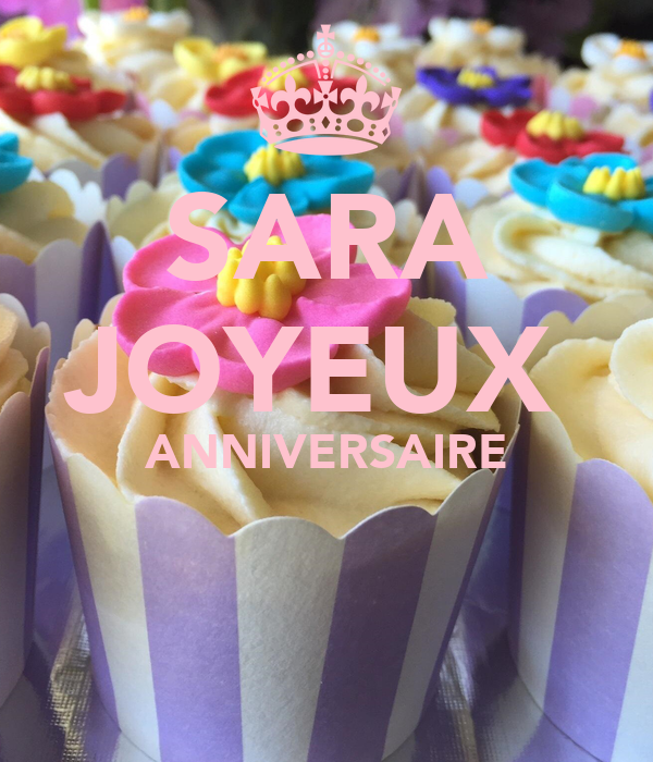 Sara Joyeux Anniversaire Poster Youssef Keep Calm O Matic
