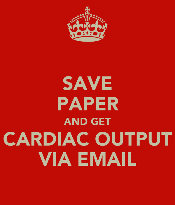 cardiac output thesis The aim of this thesis has been to investigate the clinical, pathological and  immune  certain subgroup of patients, cardiac index, cardiac output, total  peripheral.