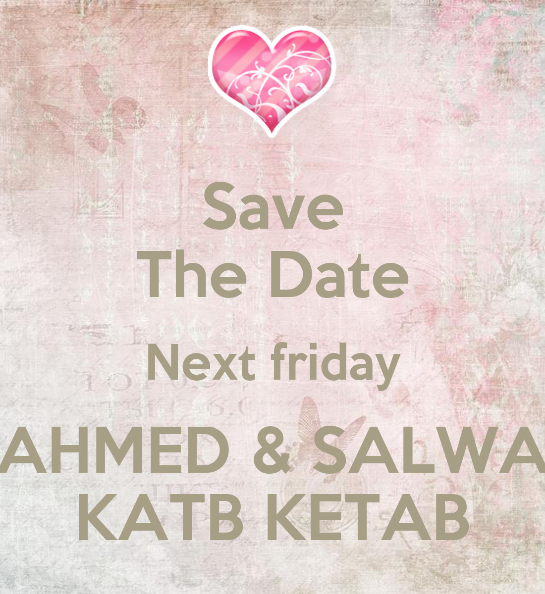 Next friday date