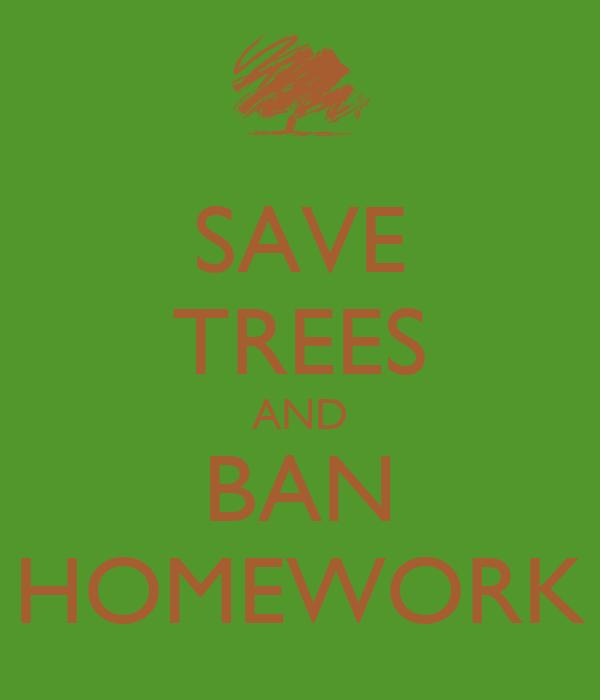 Petition to ban homework proposal