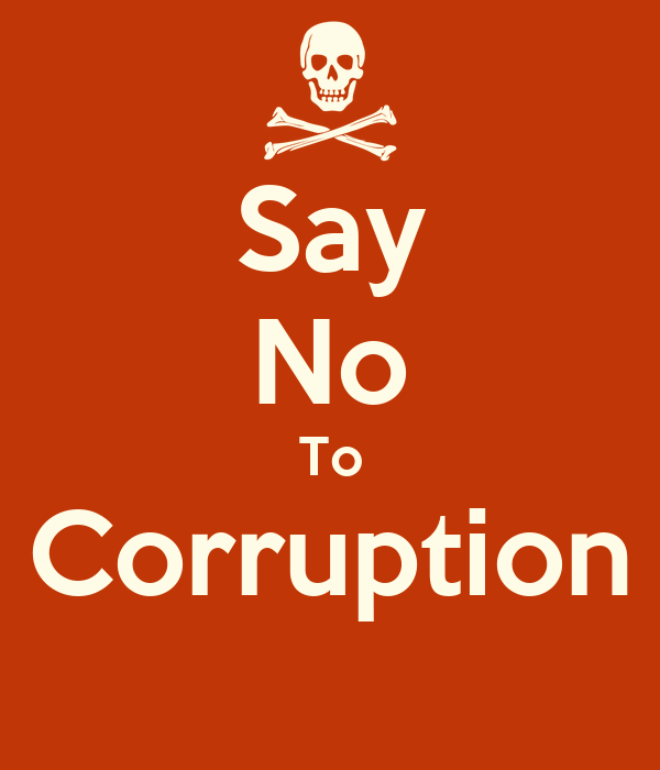 say no to corruption essay Issuu is a digital publishing platform that makes it simple to publish magazines, catalogs, newspapers, books, and more online easily share your publications and get.