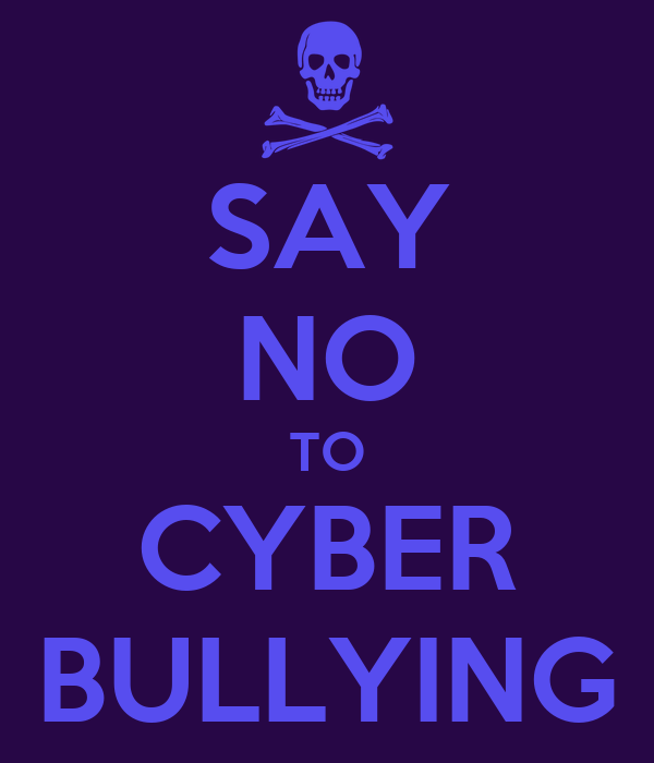 say no to bullying Learning that your little one is picking on other children is a shocking and  disconcerting news.