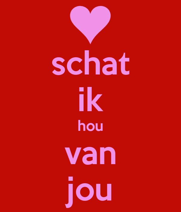 Schat Ik Hou Van Jou Poster Fatima Keep Calm O Matic