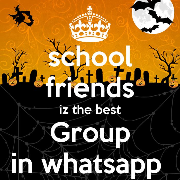 school friends iz the best Group in whatsapp - KEEP CALM ...