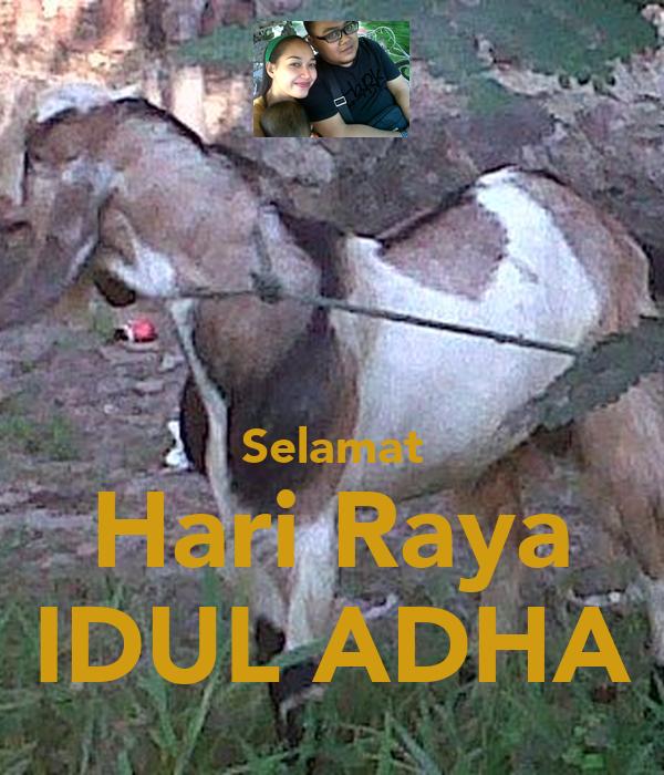 Selamat Hari Raya Idul Fitri: Selamat Hari Raya IDUL ADHA Poster