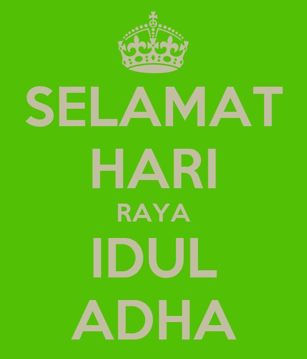 SELAMAT HARI RAYA IDUL ADHA Poster | Vicky | Keep Calm-o-Matic