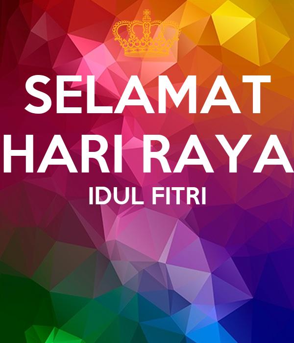 SELAMAT HARI RAYA IDUL FITRI Poster