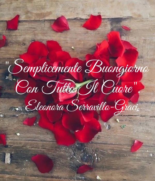 """Top Semplicemente Buongiorno Con Tutto Il Cuore"""". - Eleonora  GN44"""