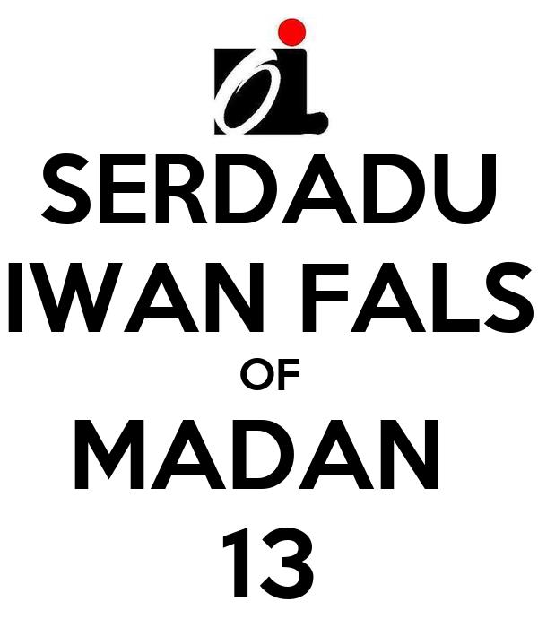 Serdadu Iwan Fals Of Madan 13 Poster Edward Keep Calm O Matic
