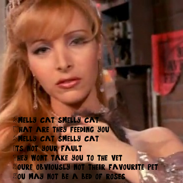 Smelly Cat Smelly Cat It S Not Your Fault