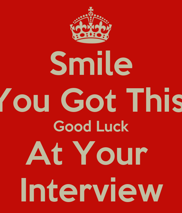 Good Luck Quotes For New Job Interview Good Luck For New