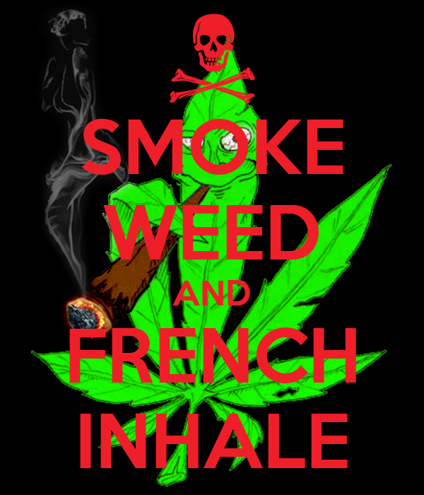 how to say weed in french