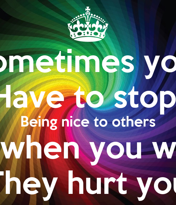 People Being Nice To Each Other