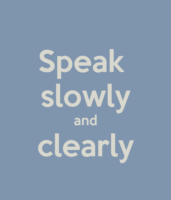 clearly speaking Clearly speaking llc (clearly speaking llc) is a speech therapy center (speech language pathologist) in searcy, arkansas the npi number for clearly speaking llc is.