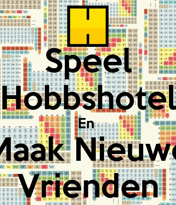 Space Hotel Maak Nieuwe Vrienden