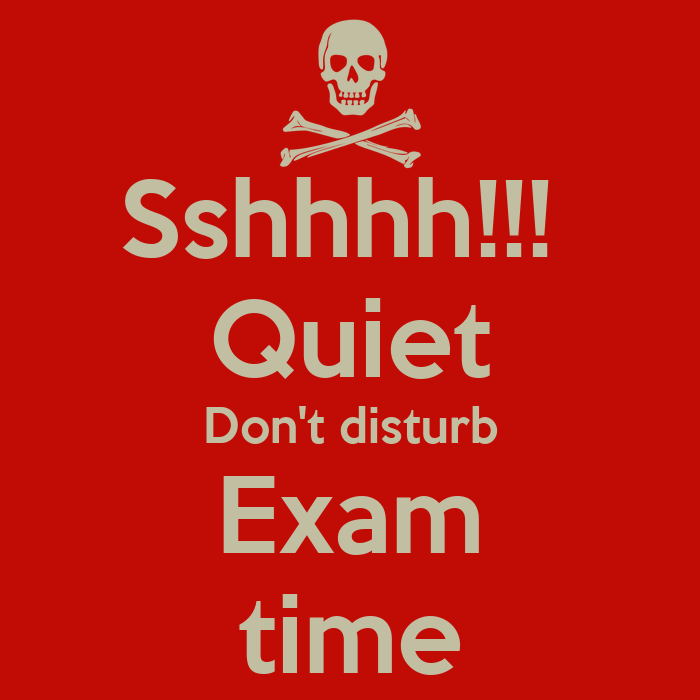 Pics Photos - Exam Time