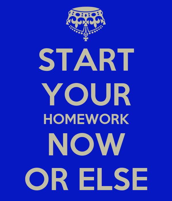 Do your homework online