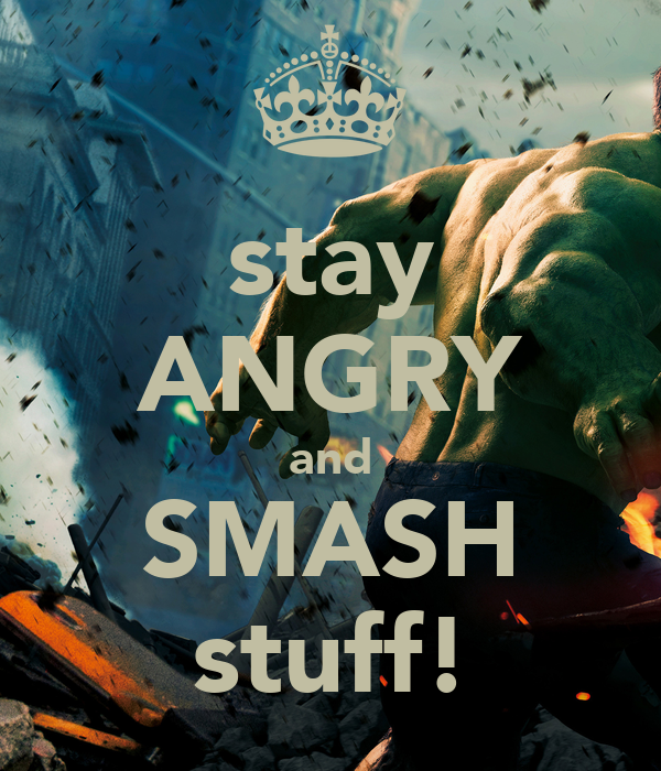 how to stay quiet when angry