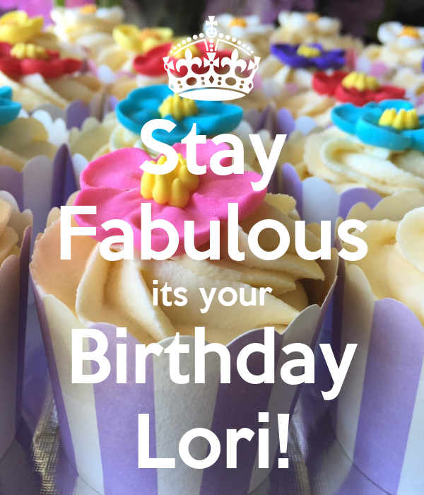 Happy Birthday Cake For Lori Images