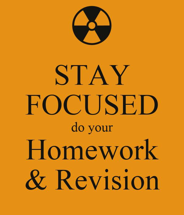 homework revision