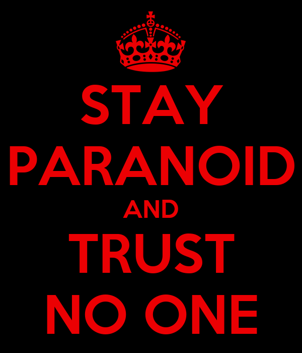 how to help a person suffering from paranoia