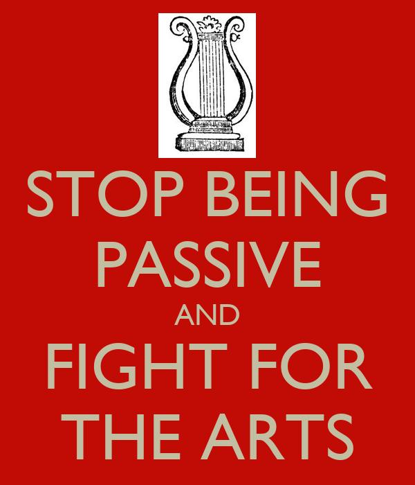stop being passive