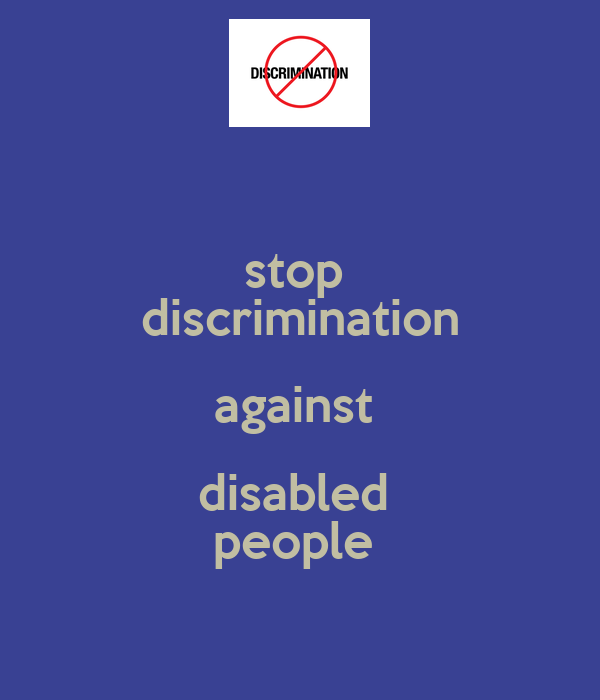 disability discrimination essay topics