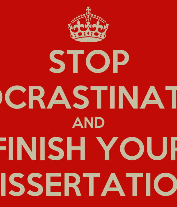 quitting dissertation When should you quit calculating losses, though, is an imprecise science because there are so many unknown factors for example, if you quit after, say, completing your comprehensive exams, are you cutting your losses by sparing yourself years of the grueling dissertation-writing process.