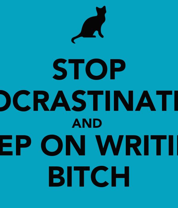 Should I keep on writing?