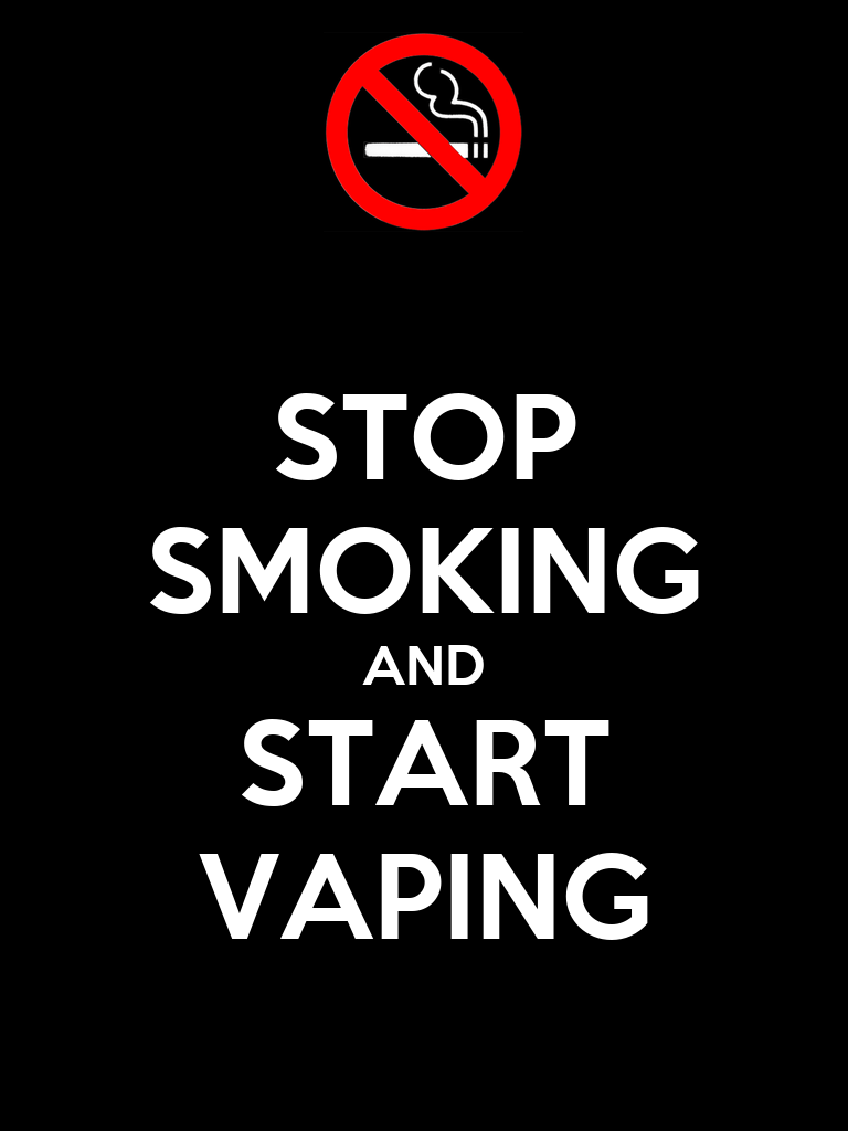 stop smoking and start vaping poster jett keep calm o matic. Black Bedroom Furniture Sets. Home Design Ideas