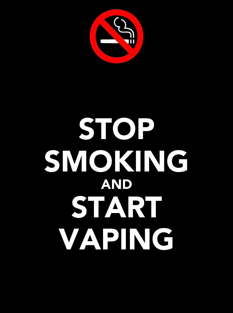 STOP SMOKING AND START VAPING Poster | JETT | Keep Calm-o ...
