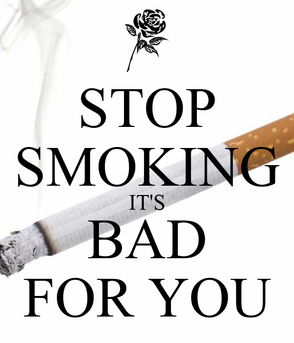 why smoking is bad You know smoking is bad for you, but do you know what this dangerous habit  does to your body and to nonsmokers who inhale secondhand.