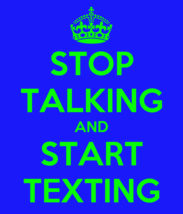 how to start texting someone