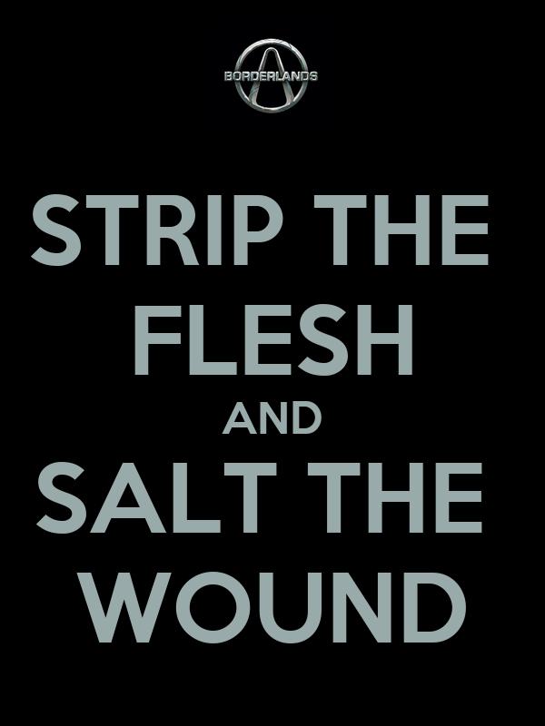 Salt The Wound Logo