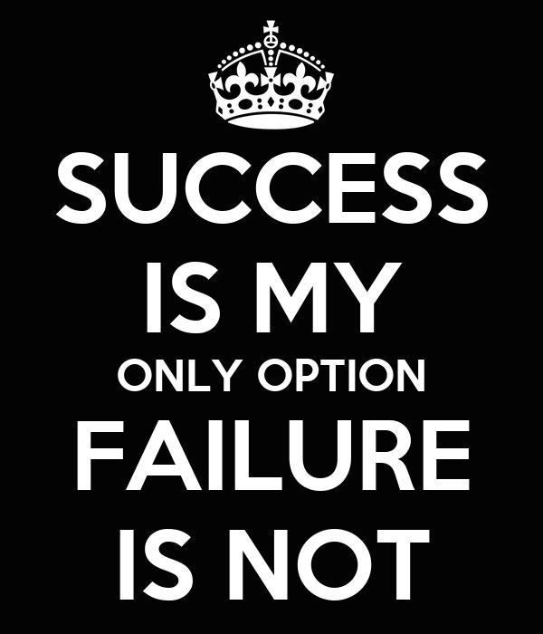 my personal successes and failures To many in our success-driven society, failure isn't just considered a  to  achieve your personal best, to reach unparalleled heights, to make.
