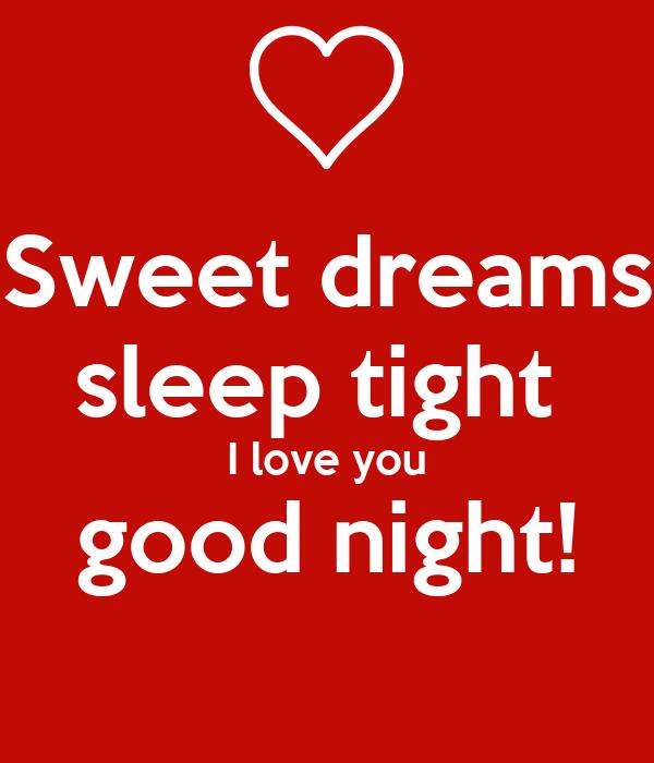 Sweet Dreams Sleep Tight I Love You Good Night Poster Dragon Keep Calm O Matic