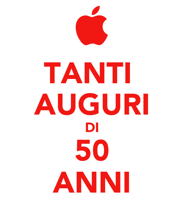 Tanti auguri di 50 anni poster umberto keep calm o matic for Auguri per i 25 anni