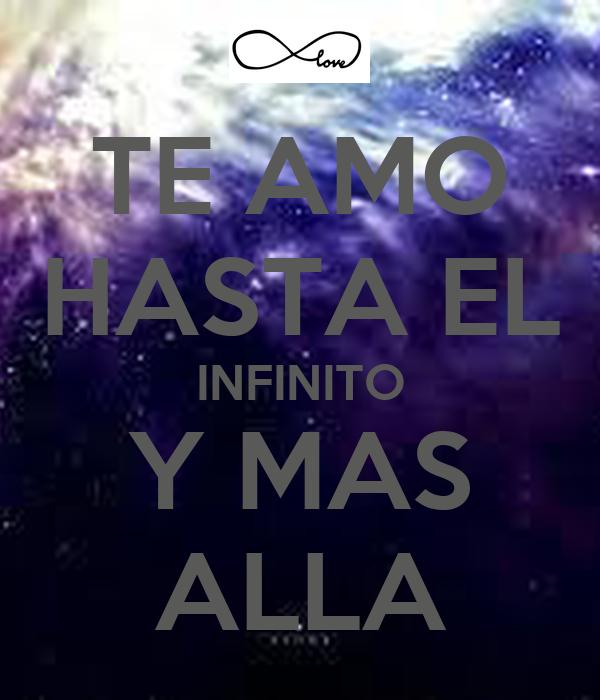Te amo al infinito y mas alla - Imagui