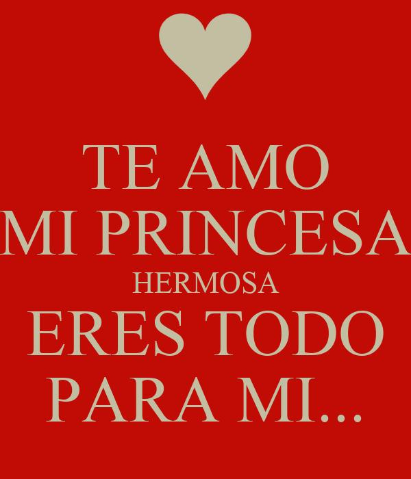 Te amo mi princesa - Imagui