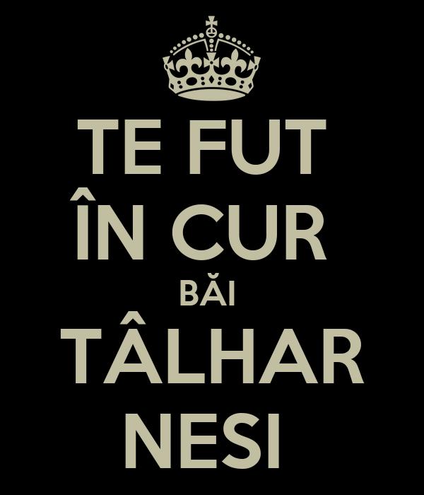 TE FUT ÎN CUR BĂI TÂLHAR NESI Poster   ccc   Keep Calm-o-Matic