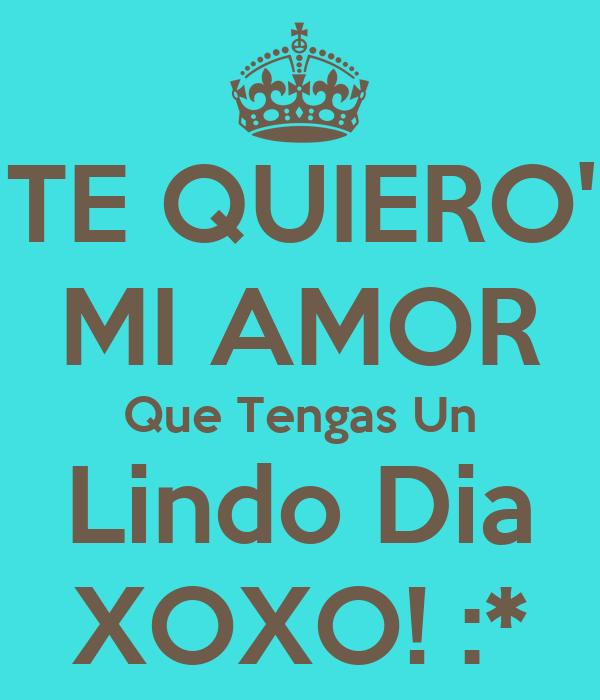 te-quiero-mi-amor-que-tengas-un-lindo-dia-xoxo.png (600 ...
