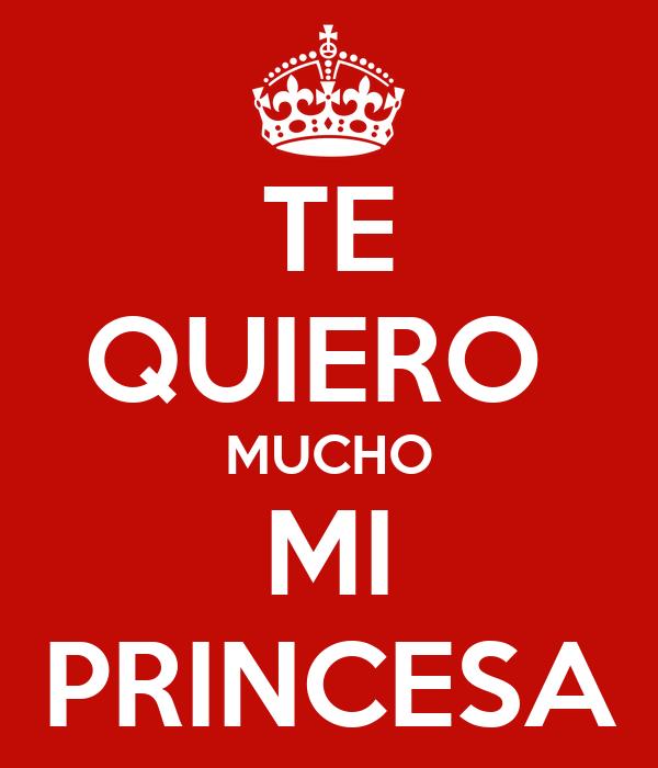 Te Quiero Mucho Mi Princesa Poster Simon Keep Calm O Matic