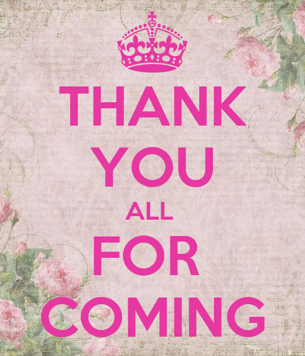 Download Lagu Thank U Arianda: THANK YOU ALL FOR COMING Poster