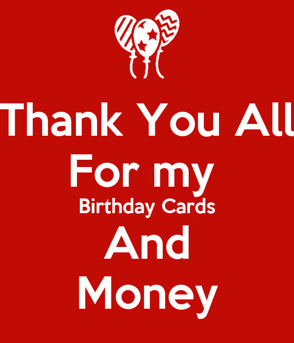 how to say thank you in a card for money