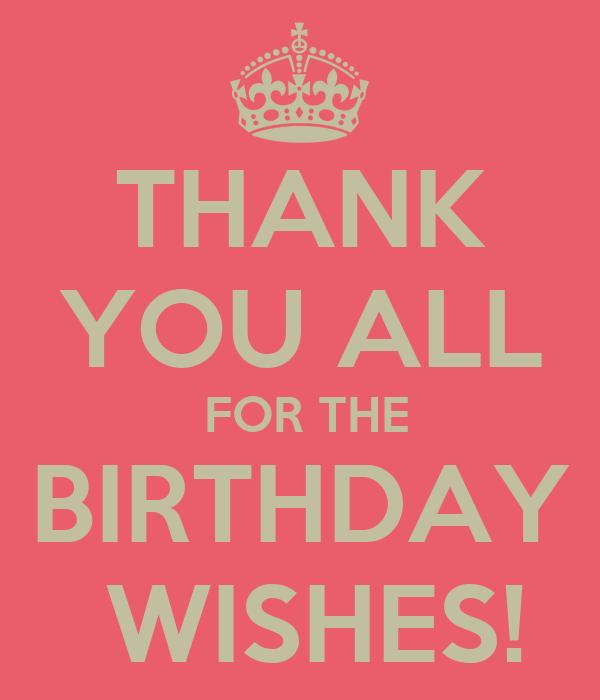 birthday thank you wallpapers thank you all for the birthday