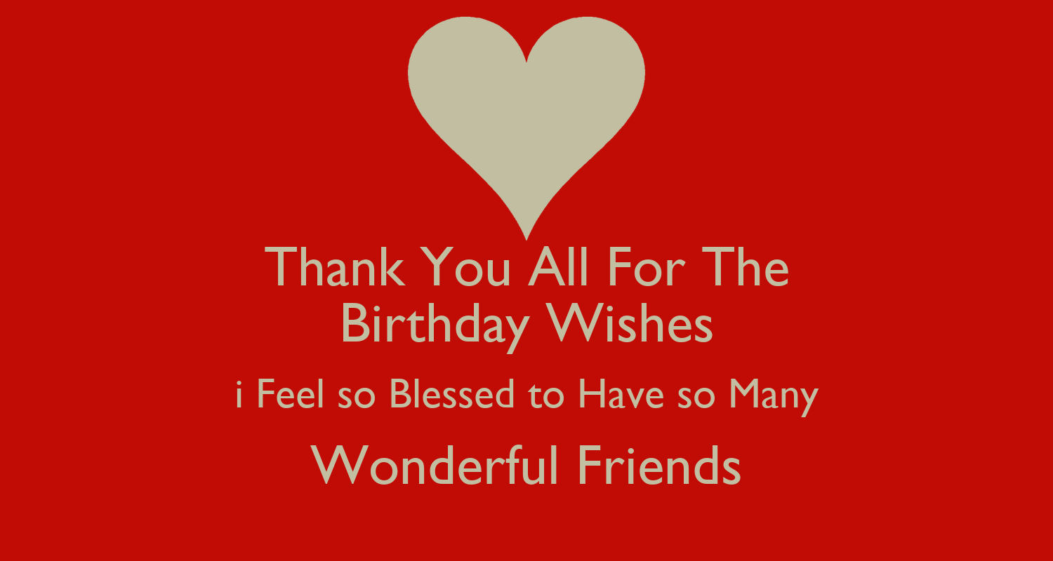 Thank You All for all your Birthday Wishes Blog GameDesire – Thank You for the Birthday Greeting