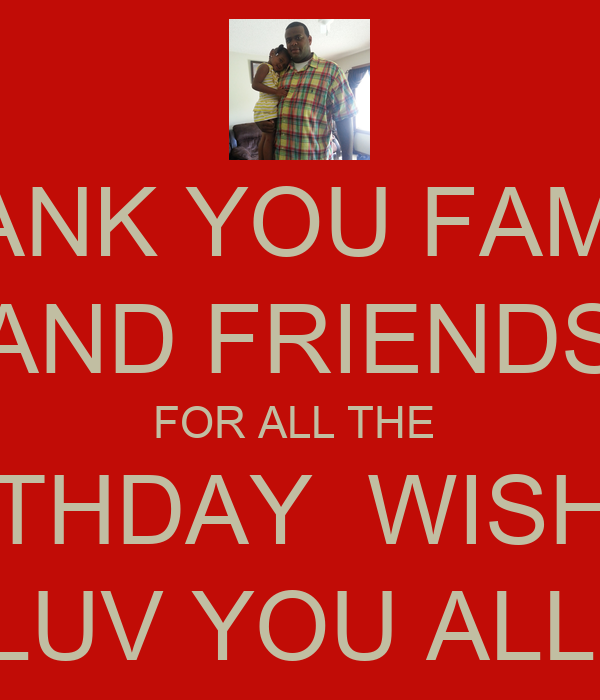 luv you all