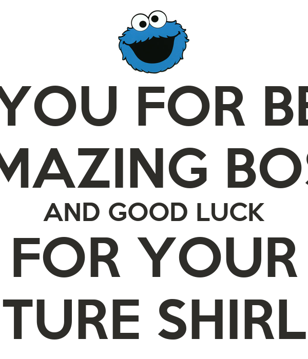 Thanking Quotes For Boss: Good Luck And Thank You Quotes. QuotesGram