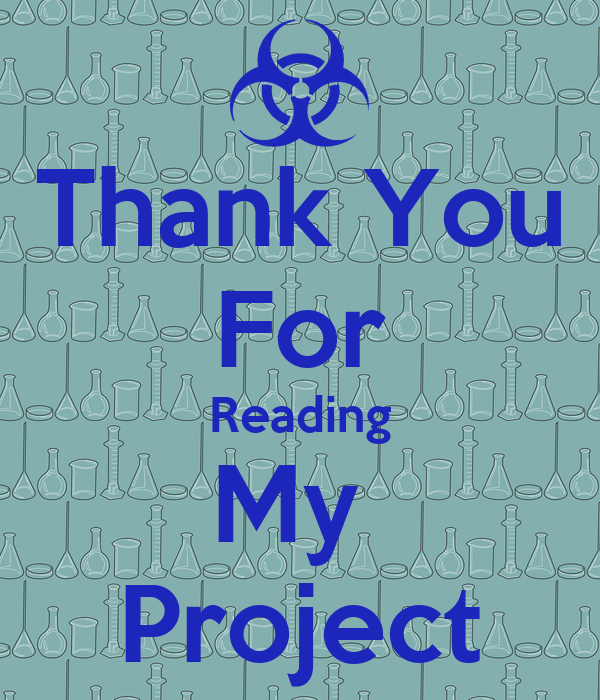 thank you for reading my project poster kurian jacob